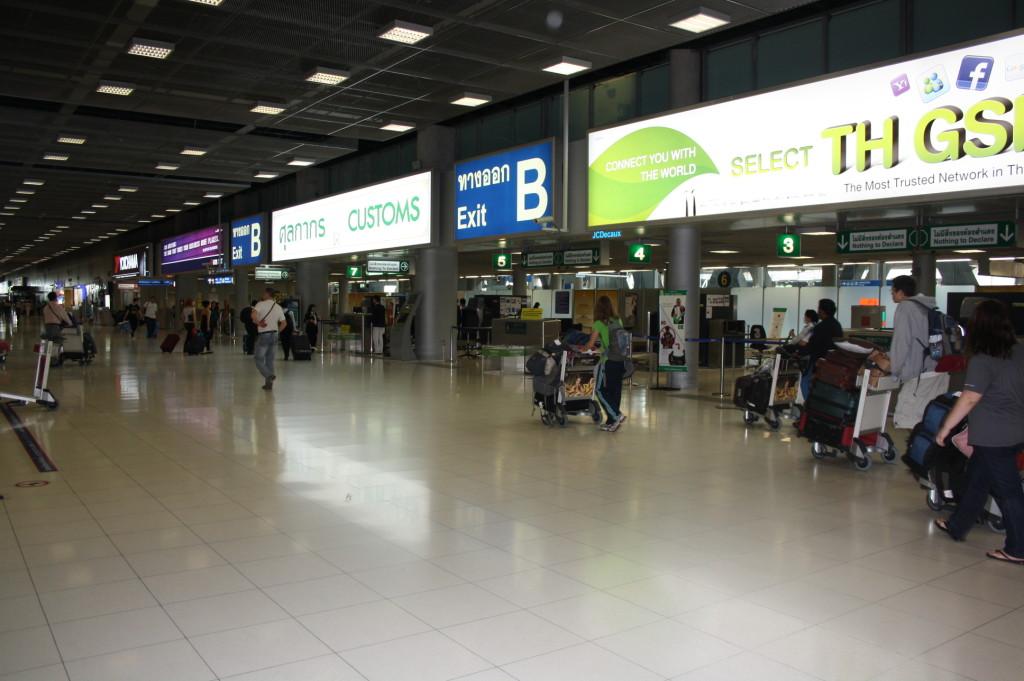 аэропорт бангкокка