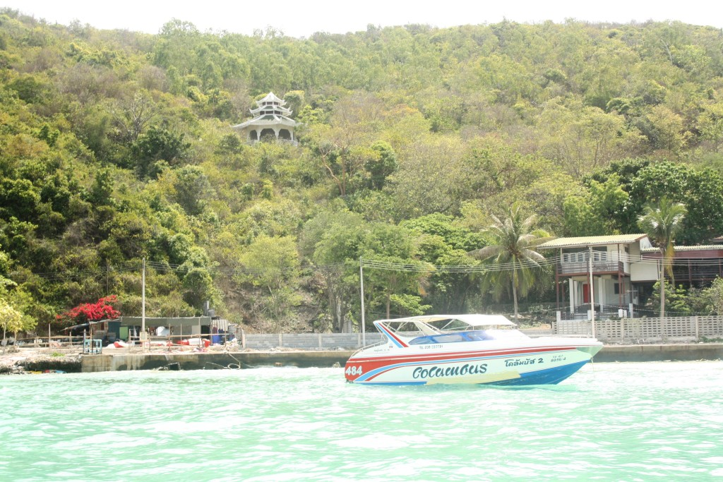 катер на остров