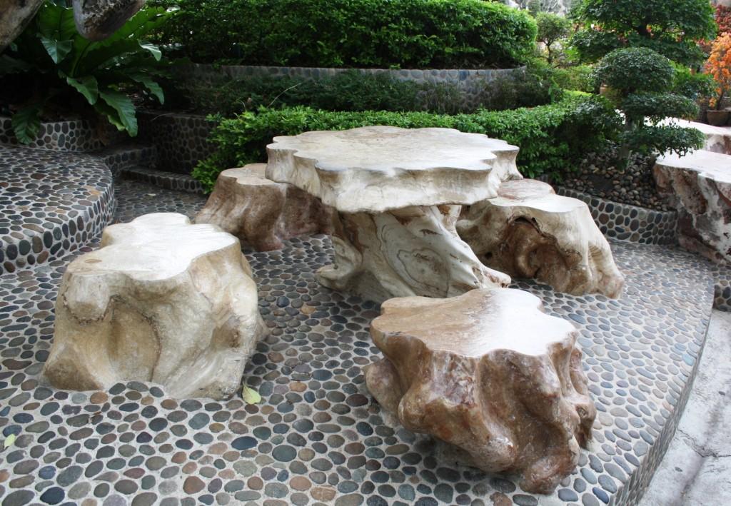 сад камней мебель