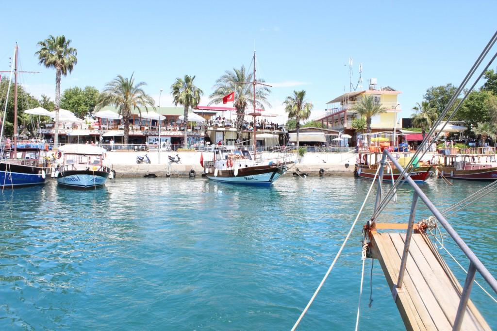 Экскурсия на яхте в Сиде