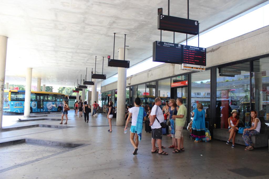 автовокзал Льорет де мар