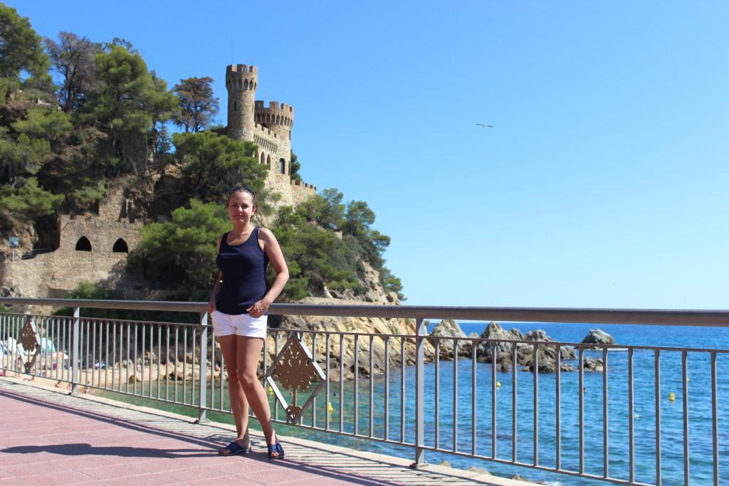 крепость Льорет де мар