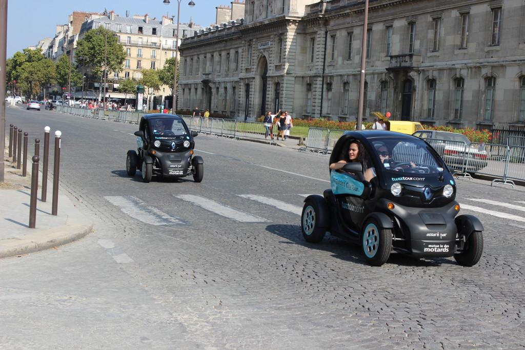 машины в париже