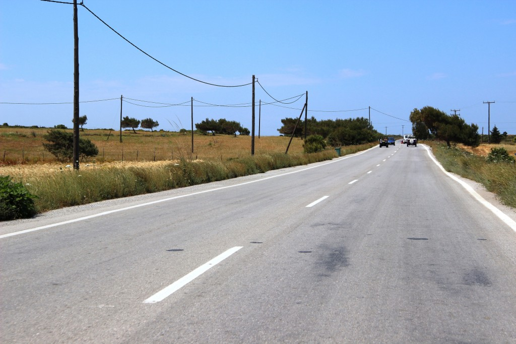 дороги острова Кос