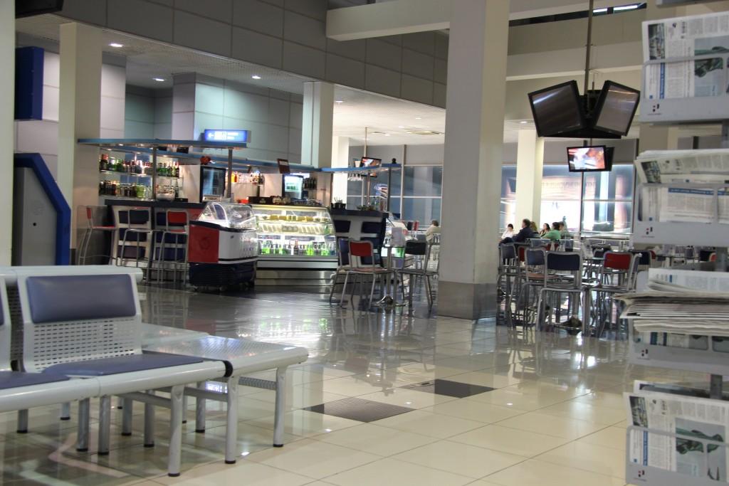 Пустой аэропорт Внуково