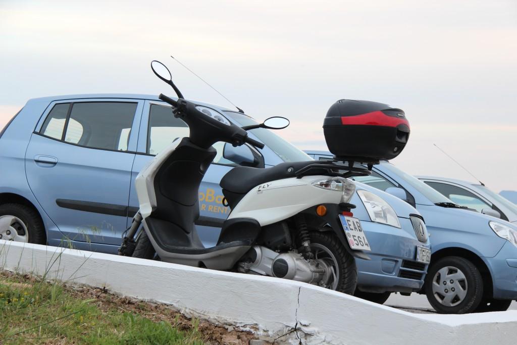 скутер на прокат на острове Кос