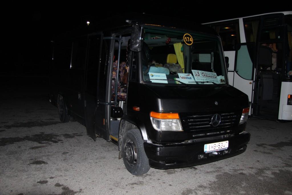 отельный автобус на о Кос