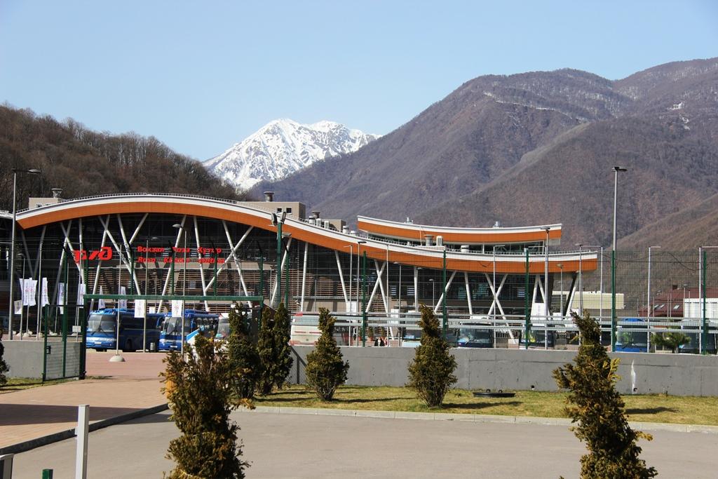 вокзал роза хутор