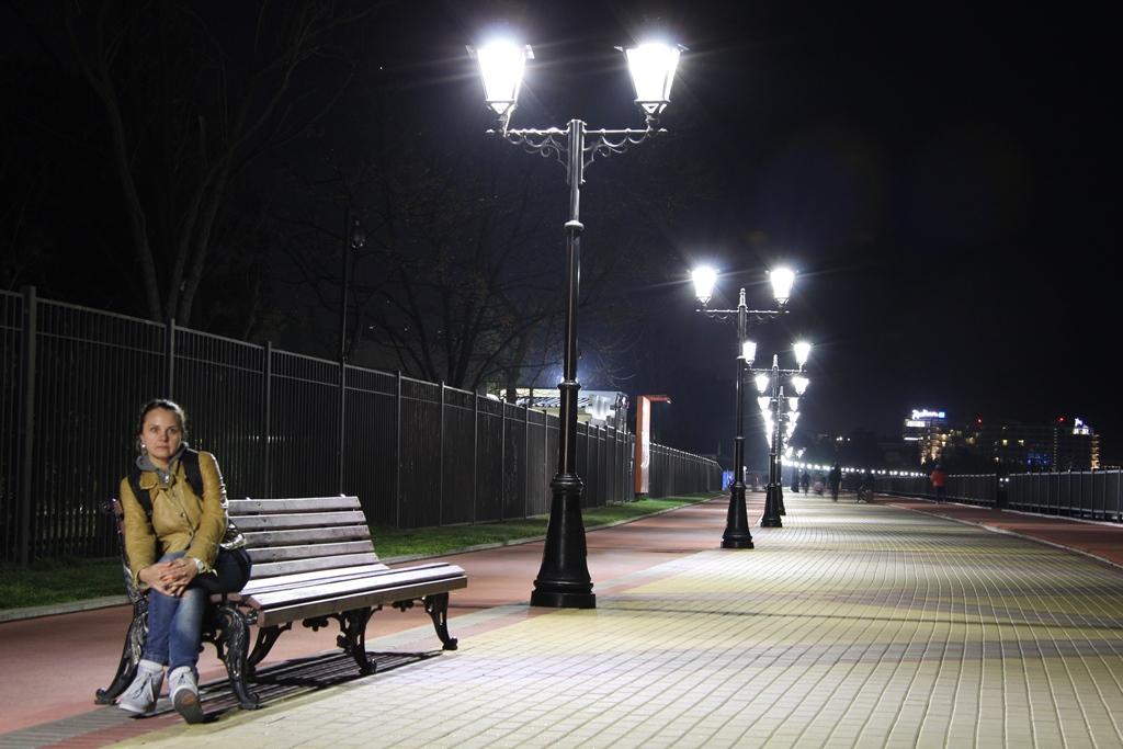 набережная ночью 2