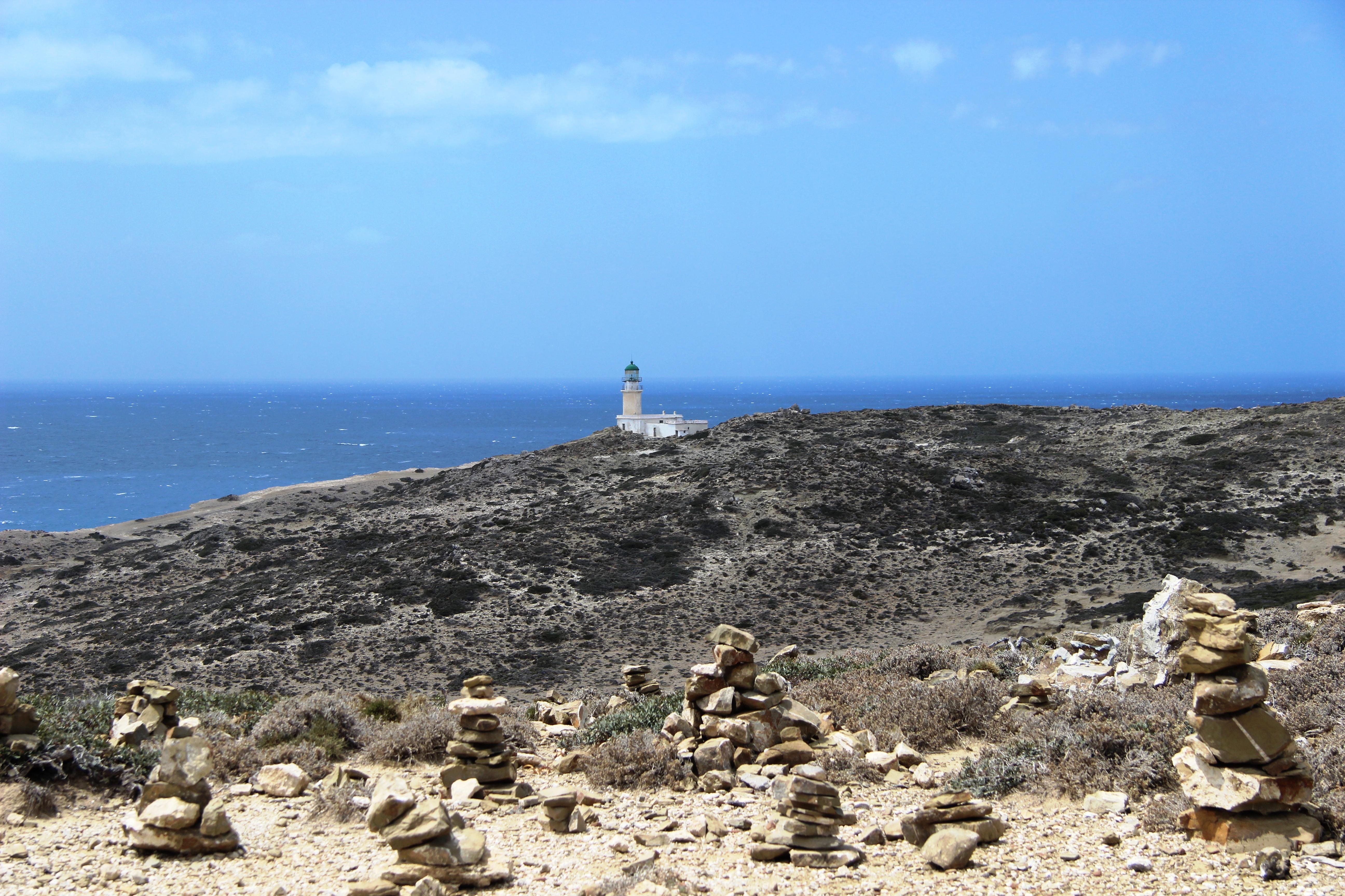 просонисос маяк на острове